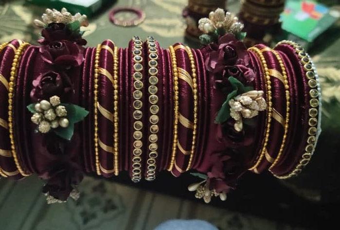 bangles flory design western