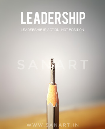 LEADERSHIP  - -miniature carving gift art on pencil lead
