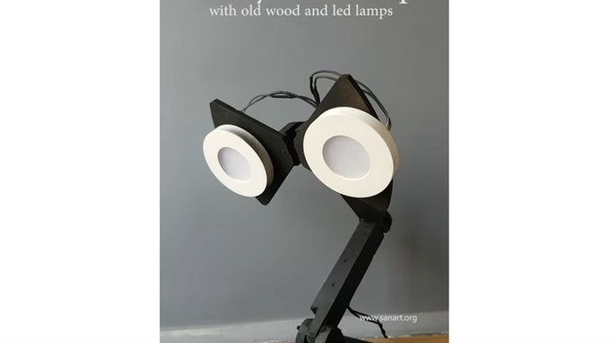 cute and sweet design of model table lamp for home decor