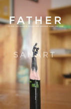 FATHER -MINIATURE ART GIFT ON PENCIL LEAD