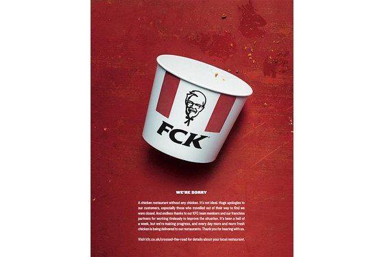 KFC Crisis: Sorry we ran out of Chicken !!