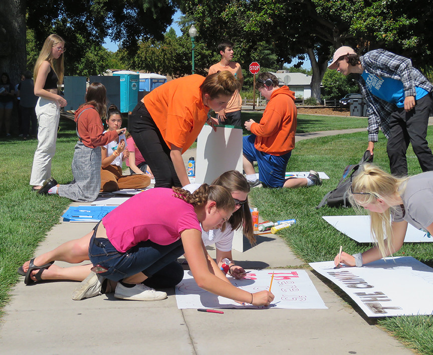 Students strike to bring awareness to climate crisis