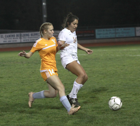 Girls soccer team struggles against tough competition
