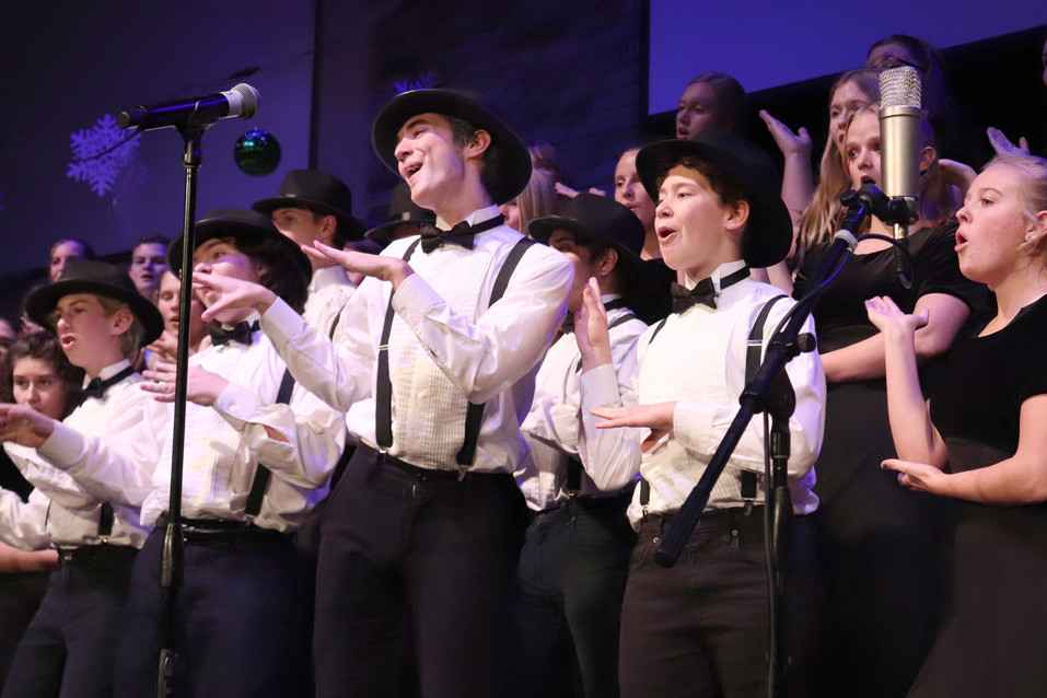 'Getting in the Mood for Christmas' was choral program's winter concert theme