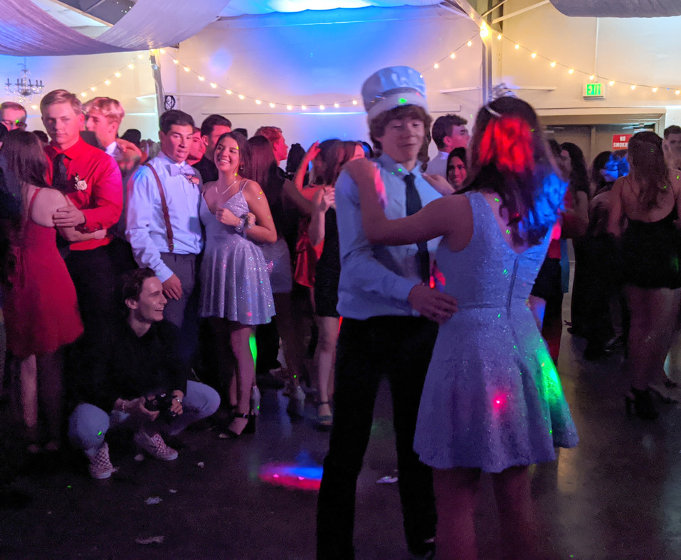 Students 'chill' at Winter Formal