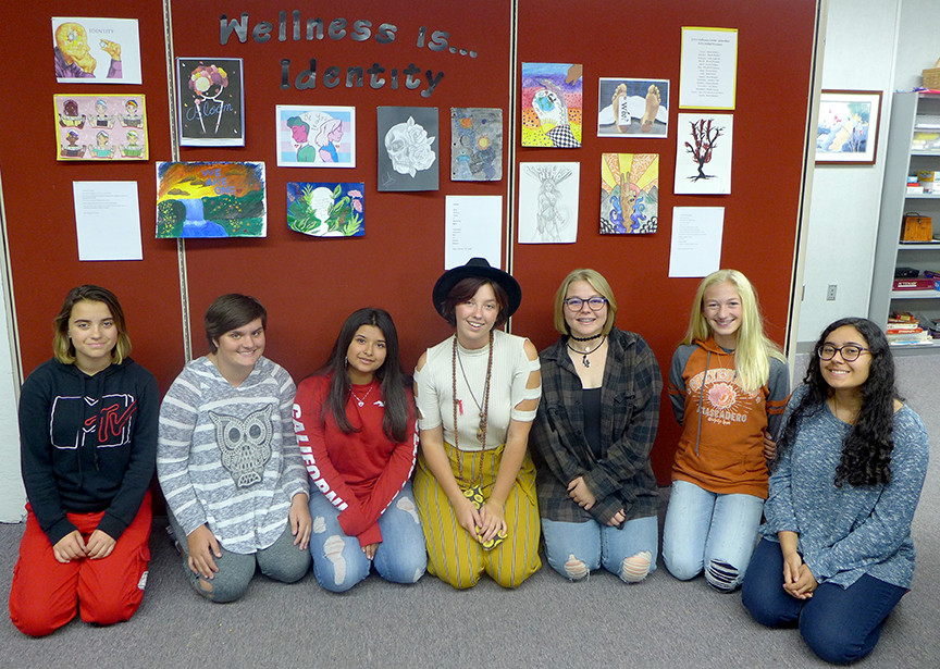Wellness Center announces calendar art contest winners