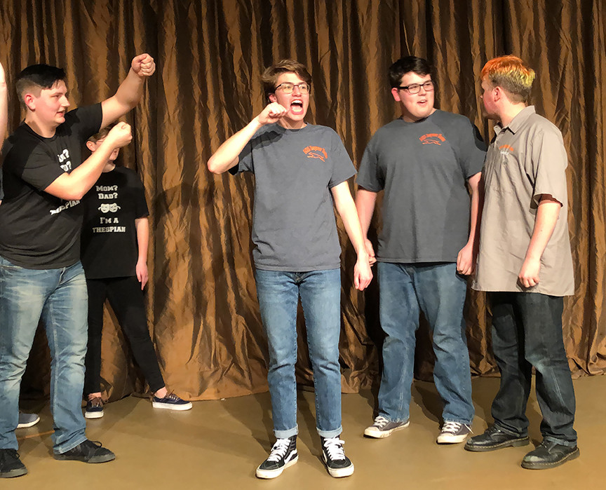 Improv Team entertains with humor, games, audience participation