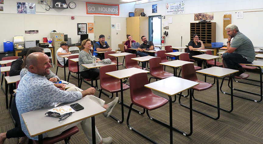 Back to School Night offers chance to meet teachers, get questions answered