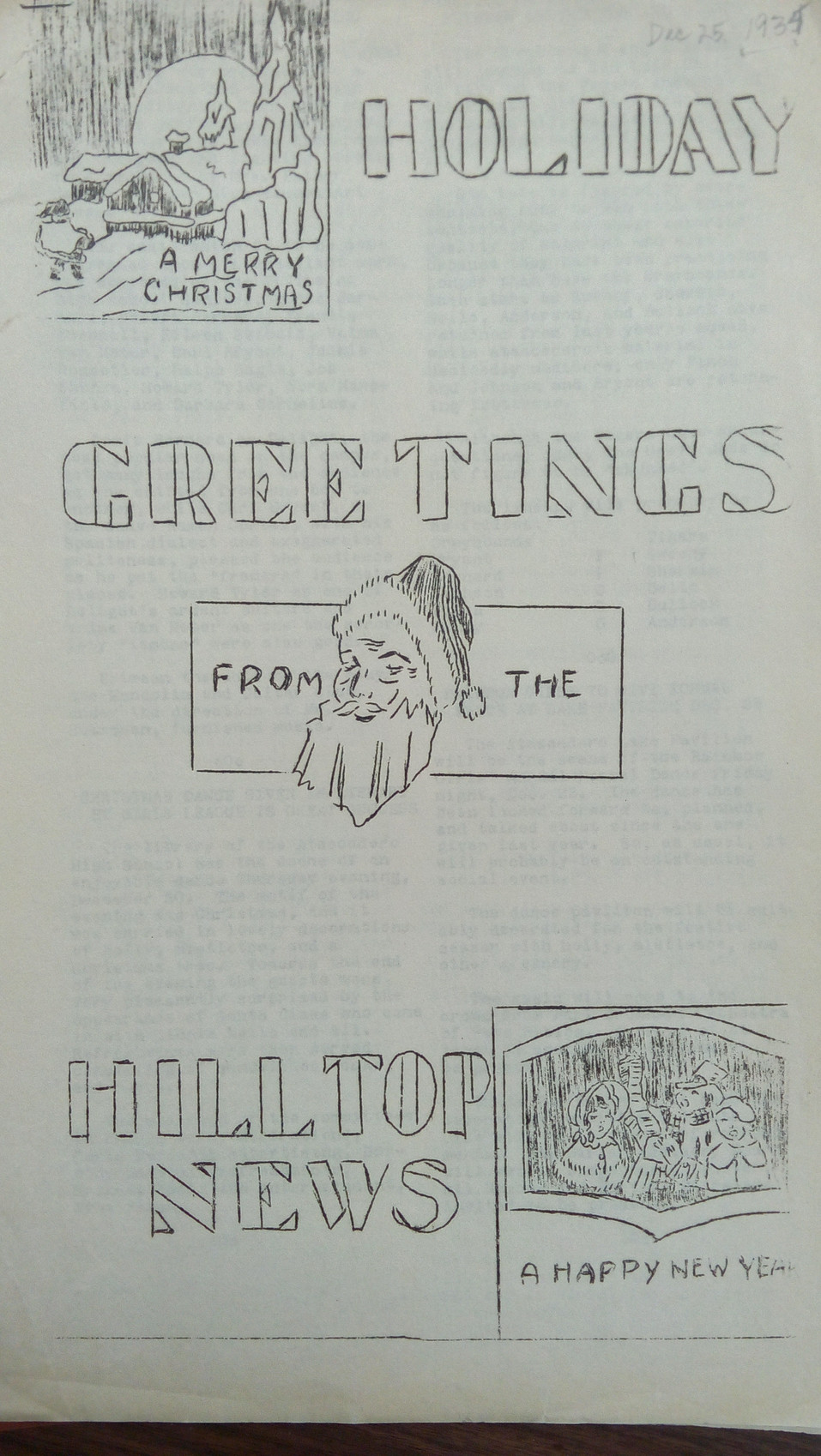 Hilltop News looks into its past with Lon Allan