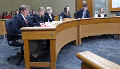 AHS Mock Trial team makes it to semifinals in county competition