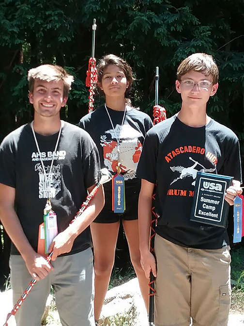 Newest drum majors awarded at summer camp