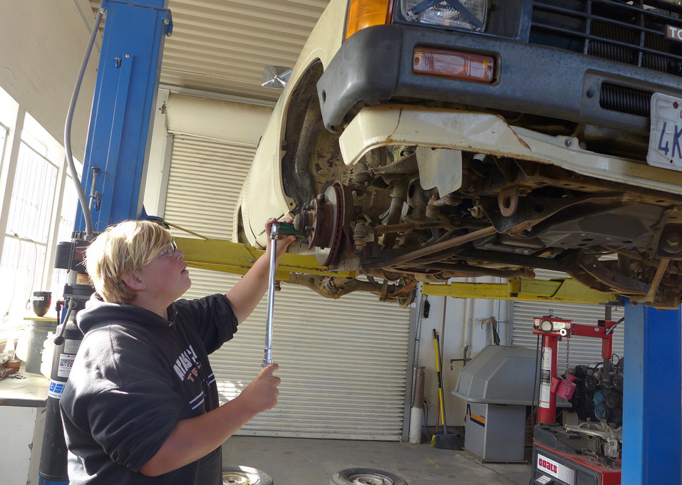 SkillsUSA Automotive Club prepares students for competition and future careers