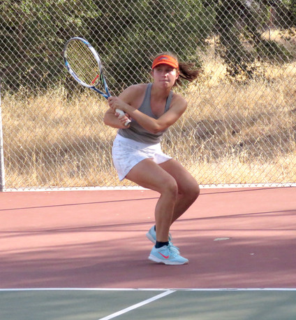 Girls tennis team makes it CIF semi-finals