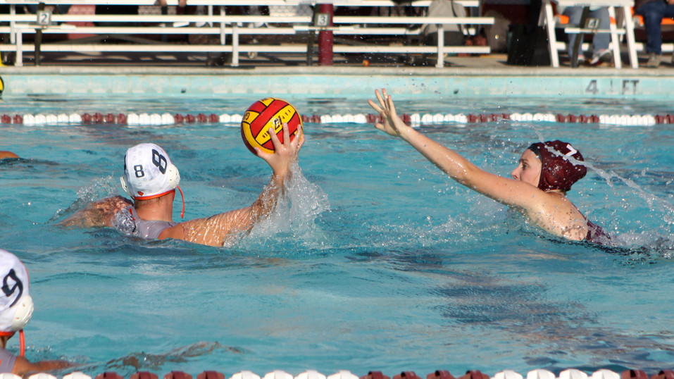 Young Girl's Water Polo Team Perseveres