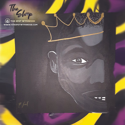 """Young King"" by R.Ford the Artist"