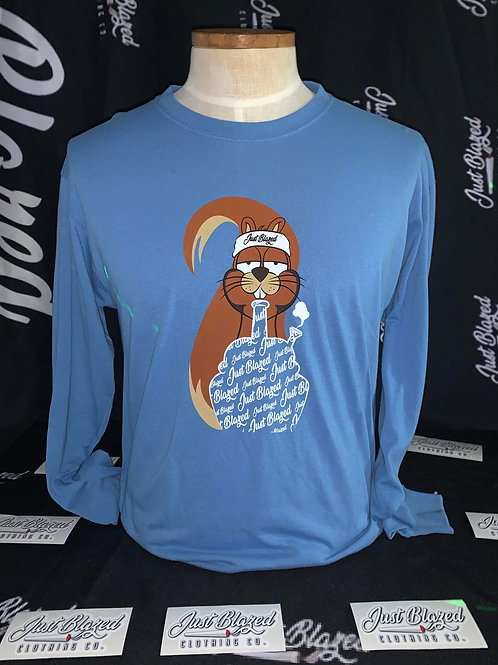 JUST BLAZED: Budzy the Squirrel Long-sleeve