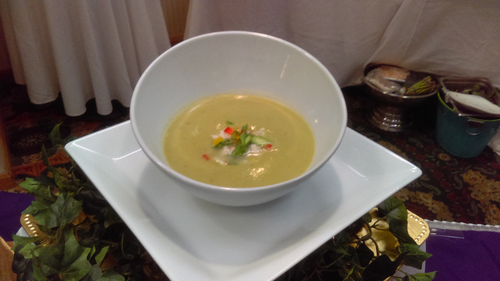 Chilled Aspargus Soup