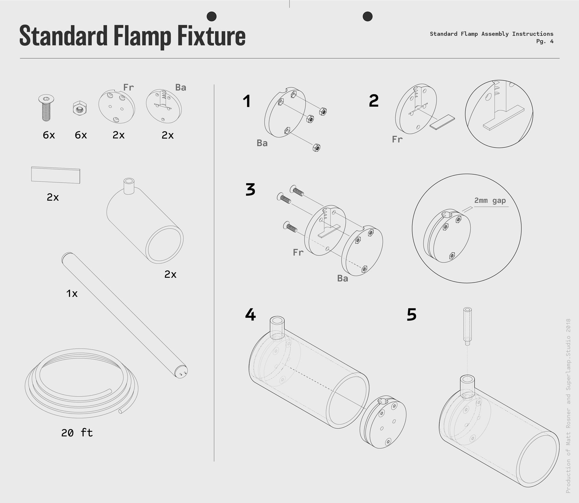 FLAMP_MCD_Standard Flamp Fixture_Drawing