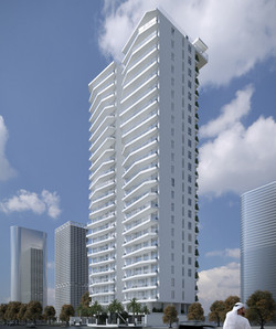 Twin Towers by M Residence - Side View