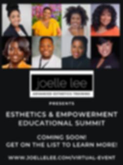 JoElle Lee advanced esthetics training p