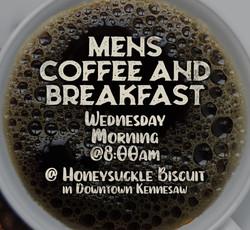 Men's Breakfast - Every Wednesday 8am @ Honeysuckle Biscuit & Bakery