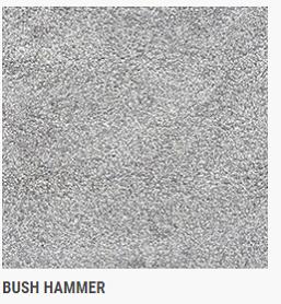 PLAZA GRAY BUSH HAMMER