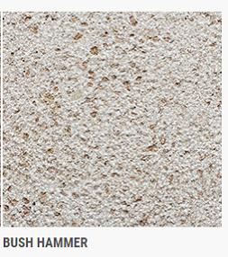 CHESTNUT SHELL BUSH HAMMER