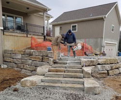 "14"" Native Ledge Wall Stone/Steps"