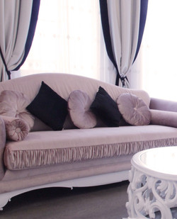 Пошив подушек для гостиной