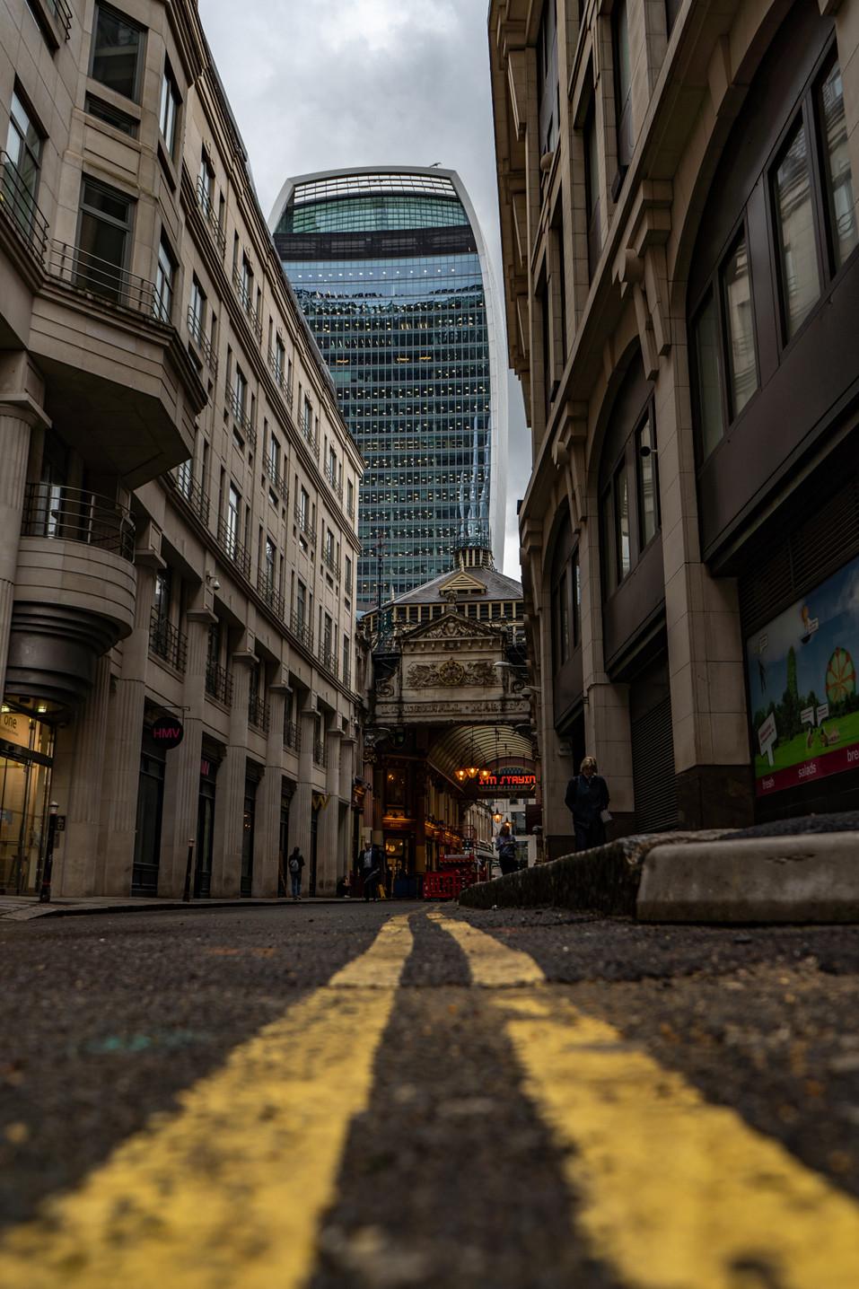 Leadenhall Market, London.