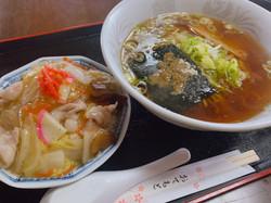 ラーメンセット(中華丼)