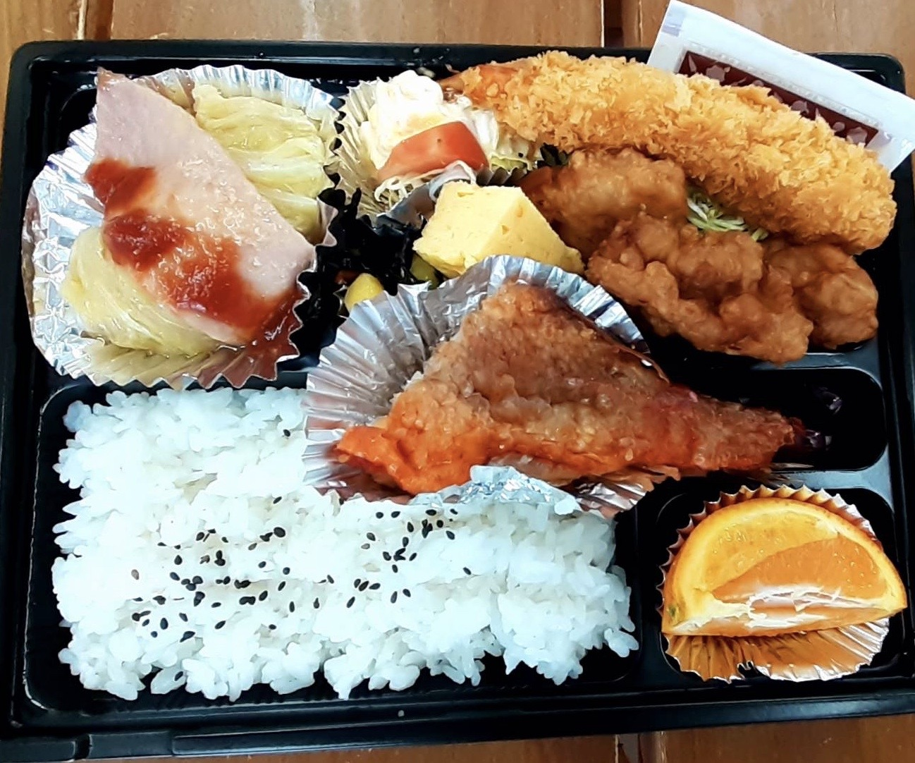 弁当(例)600円