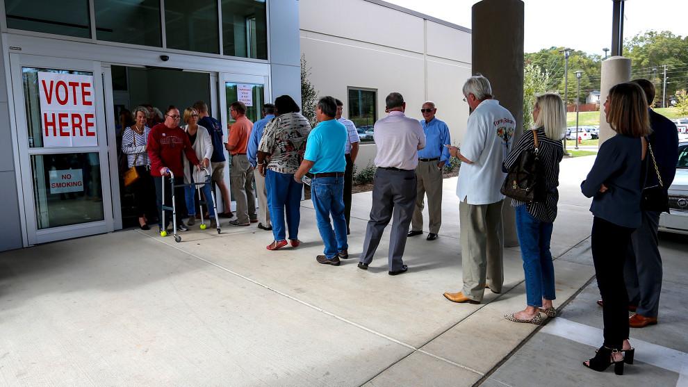 2016 Election Alabama Voting