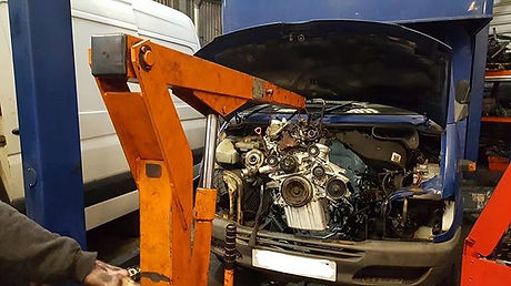 Fully rebuilt Mercedes Sprinter 611 engi