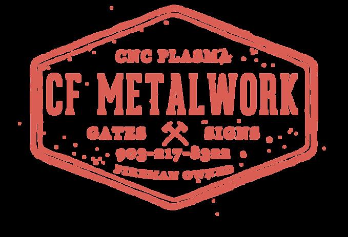CF Metalwork Logo