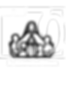 70 year logo White  -  St. Coletta's of