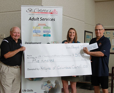Knights of Columbus donation 8.30.19.JPG