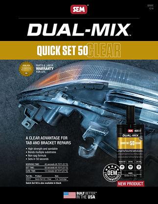 SEM QuickSet50 Clear
