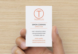 Business Card Preview