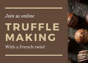 Chocolate Truffle Making Party with a French Twist