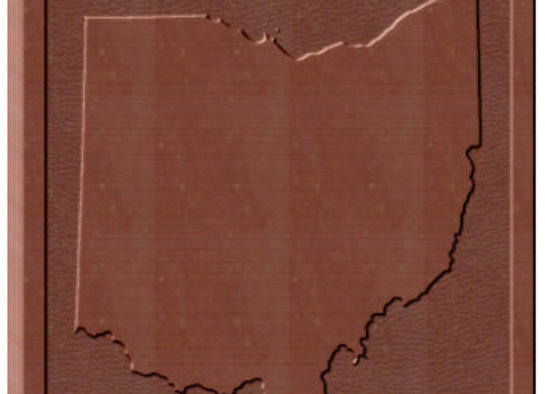 OHIO Solid Chocolate Bar