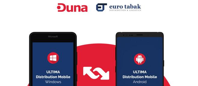 Апликација за мобилно В2В и В2С работење во Еуро Табак