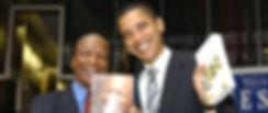 Jesse White and Barrack Obama