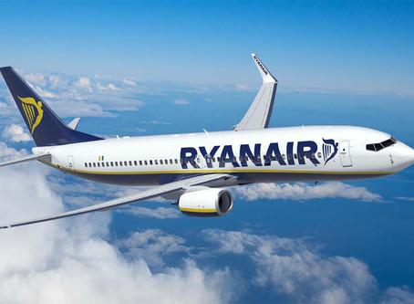 Rayanair, tre nuove rotte dalla Puglia