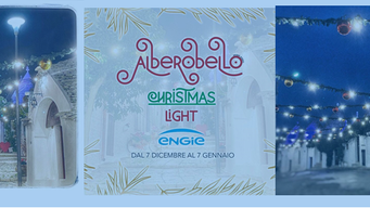 ALBEROBELLO - Si accende il Natale