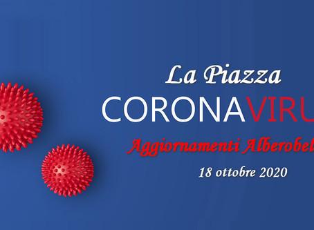 """COVID - Casa di Riposo """"Fondazione Giovanni XXIII"""", aggiornamento del 18.10.20"""