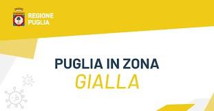"""COVID - La Puglia in """"zona gialla"""""""