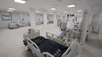 BARI - Pronto l'ospedale Covid alla Fiera del Levante