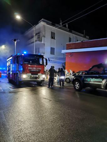 ALBEROBELLO - Incendio (aggiornamento)