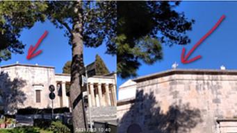 ALBEROBELLO - Aggiornamenti antenna sulla sommità del cimitero monumentale